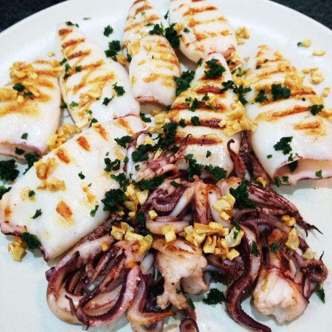 Calamares A La Plancha Nutri Cocinillas