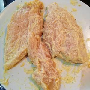 83 - Preparación de pollo con mostaza