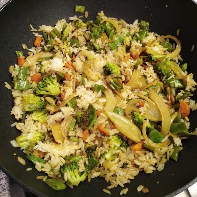 Wok con verduras